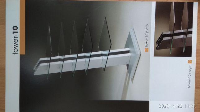 стойка для AV аппаратуры GISAN Tower 10 (цвет серебристый)