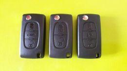 Carcaça c/ s/ chave retrátil Peugeot / Citroen / Volkswagen