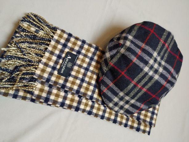 Burberry London Flat Cap kaszkiet czapka Casual Skinhead Tartan