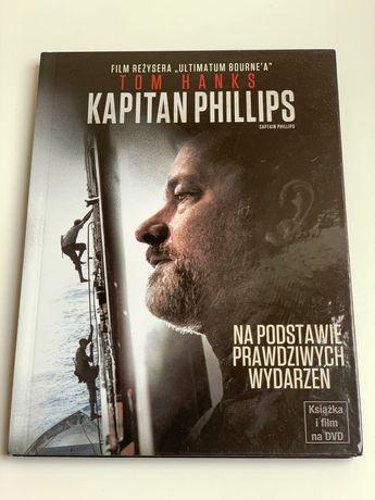DVD Kapitan Phillips. Film z Tomem Hanksem. Historia na faktach.