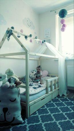 Łóżko łóżeczko domek Skandynawski dla dziecka House bed +Stelaż GRATIS