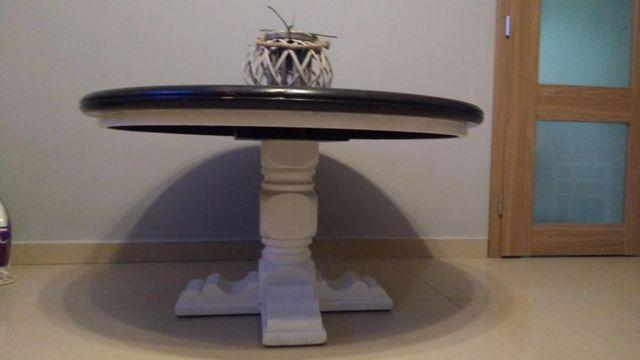 Stół okrągły drewniany stół