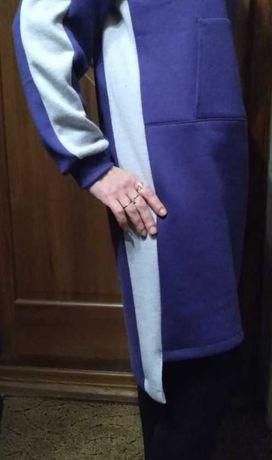 Платье.толстовка удлиненная. Худи, туника