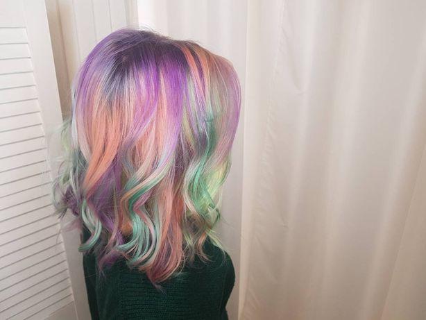 Окрашивание волос омбрэ аир тач балаяж шатуш мелирование лечение