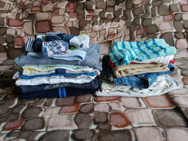 Ubranka dla chłopca rozmiar 68-74