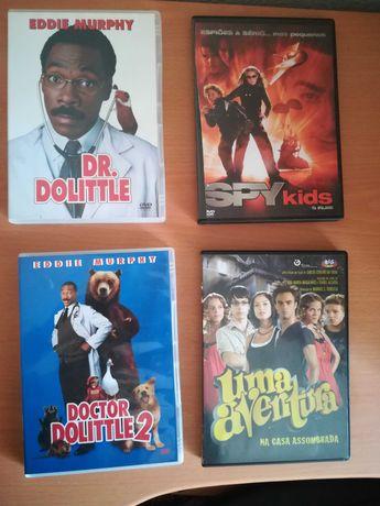 Filmes DVD  -  Originais Novos (Conjunto)
