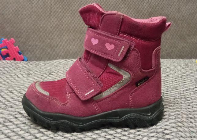 Продам зимние ботинки для девочки Superfit, р 26