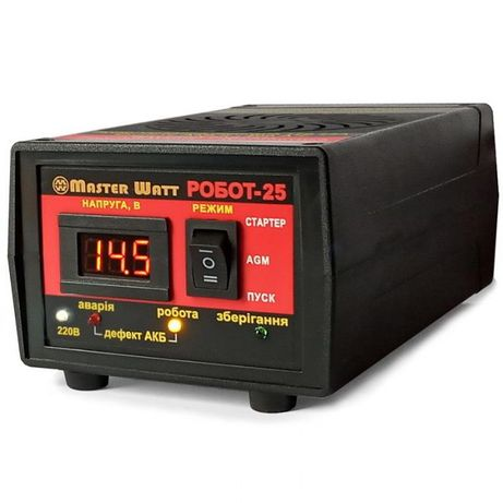 Пуско-зарядное устройство РОБОТ-25 Master Watt