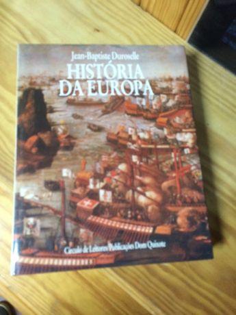 """HISTÓRIA DA EUROPA"" de Jean-Baptiste Duroselle"