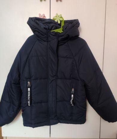 Nowa kurtka wiosenna- jesienna dla dziewczynki 134