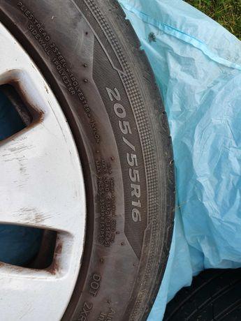 Opony letnie Hankook na oryginalnych alufelgach Audi - okazja