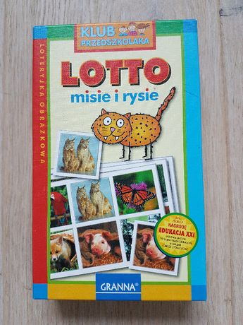 Granna Lotto Misie i Rysie gra edukacyjna 3-6 l