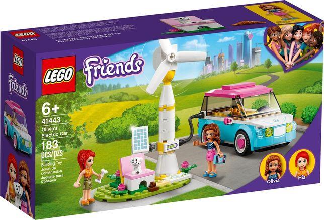 Lego Friends Samochód elektryczny Olivii 41443 Wys24 Nowość 2021