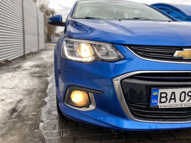 Продаю свой Chevrolet Aveo 2018 официальный Автомат коробка ГАЗ
