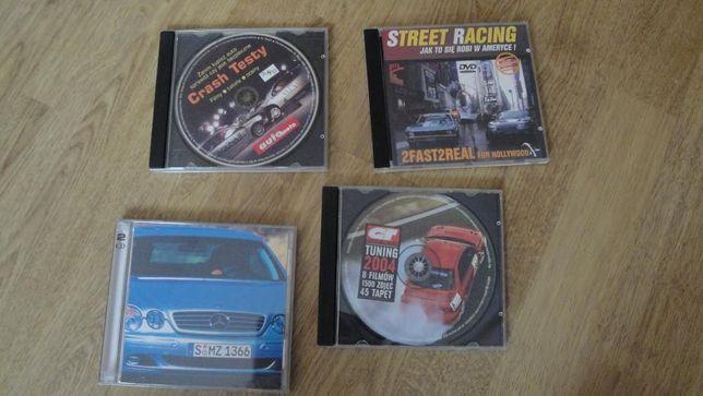 Oryginalne płyty Motoryzacji GT Tuning, Crash Testy, Street Racing