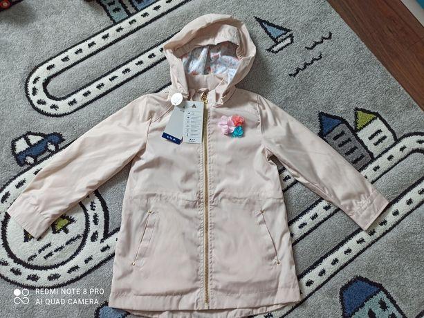Sliczny płaszczyk kurtka parka 5 10 15 r 116/122