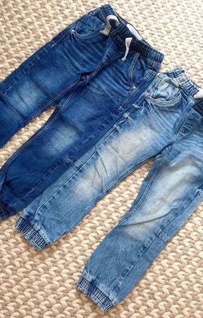 Next jeansy roz. 122 dwie pary