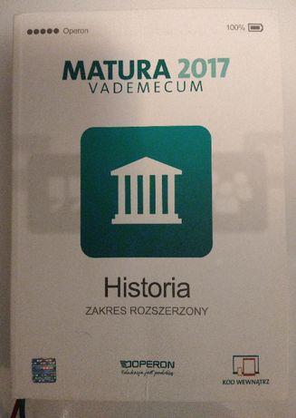 "Vademecum do historii ""Matura 2017"", zakres rozszerzony"