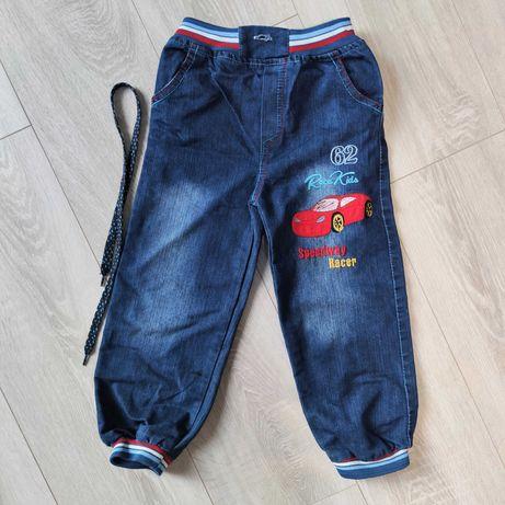 Турецкие джинсы на манжетиках, р. 5-6 лет, замеры в описании