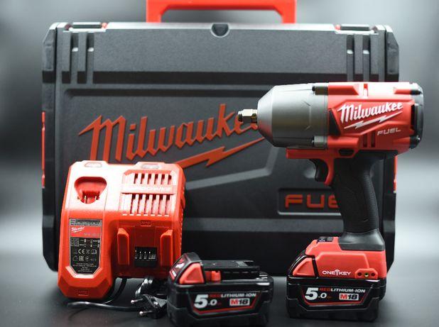 """Milwaukee Klucz Udarowy 1/2"""" ONE-KEY M18ONEFHIWF12-502X, FAKTURA"""