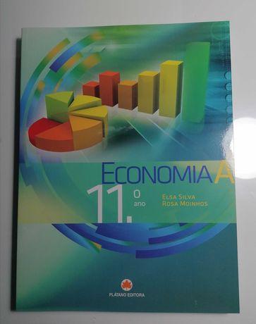 Manual e caderno de atividades economia A 11ºano (Plátano Editora)