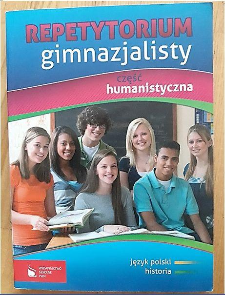 Repetytorium gimnazjalisty -część humanistyczna - 2 książki - POWTÓRKA
