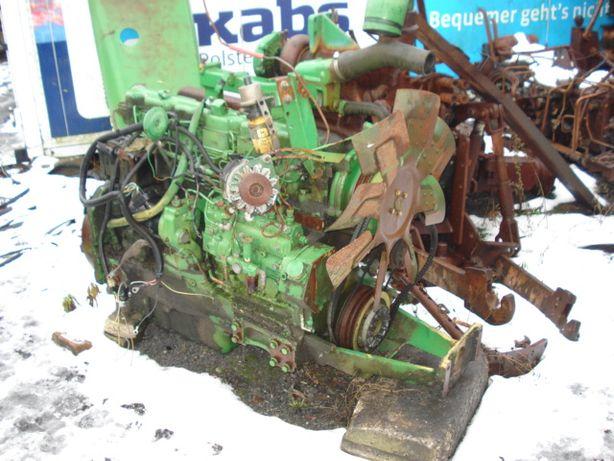 silnik john deere 4240 uszkodzony