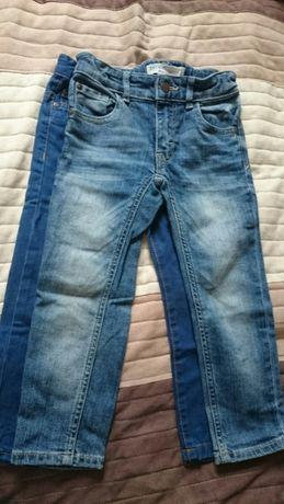 Spodnie chłopięce z gumką w pasie jeansy dżinsy rozm. 98