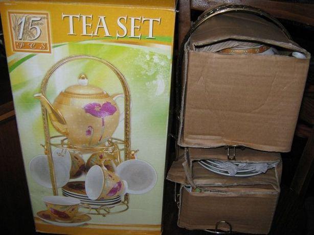 Чайный сервиз (сервис) 6 персон U166A (вид росписи)