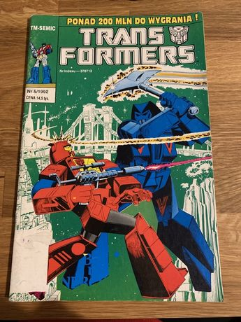 Komiks trans formers 5/1992