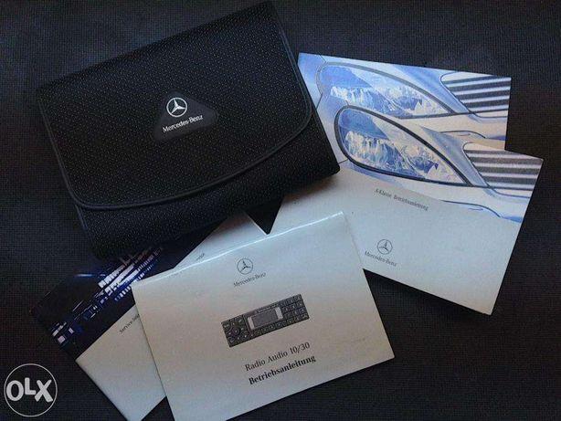 Catálogo / Livro de instruções Mercedes Classe A W168