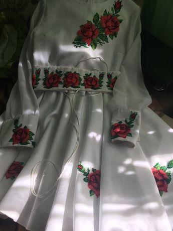 Плаття вишите бісером