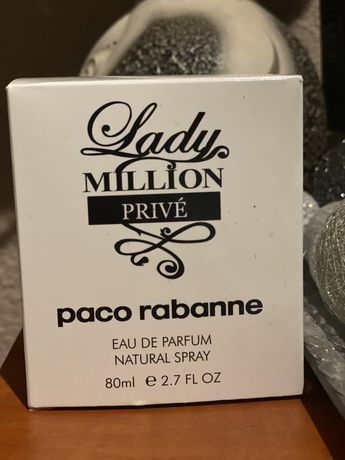 Lady Million prive Paco Rabanne 80 ml