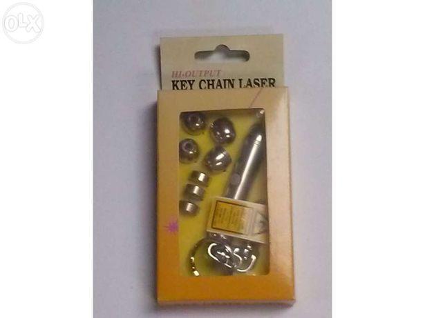 Key Chain Laser-Ponteiro de Laser NOVO
