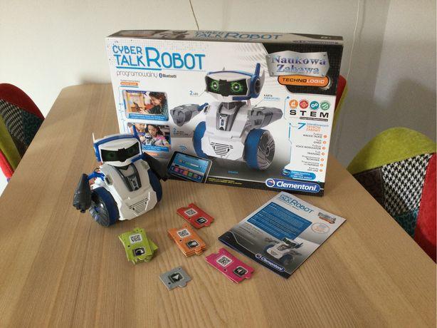 Robot zabawka Cybertalk programowalny Clementoni