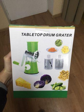 Овощерезка мультислайсер /Терка для овощей и фруктов 3 насадки ТОП