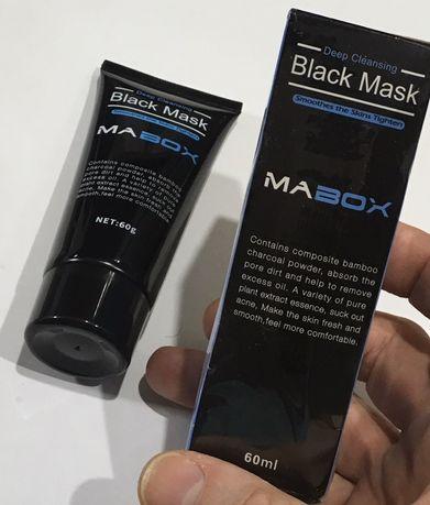 Очищающая маска для лица Black Mask MABOX