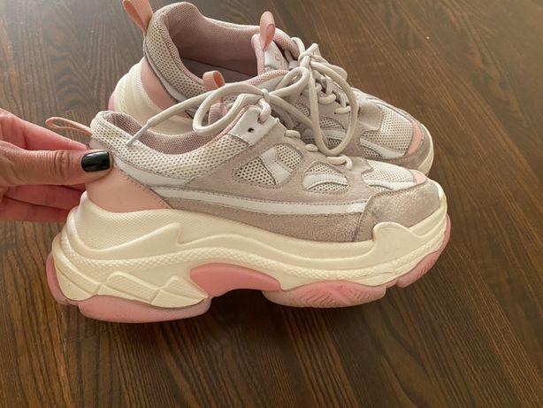 Кроссовки на девочку на платформе