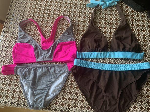 Strój kąpielowy- sportowy- bikini- 2 szt. Roz 40
