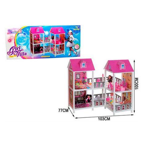 Домик с мебелью для барби, кукл. Арт 66890