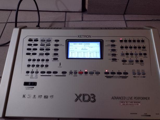 Moduł brzmieniowy Ketron XD3