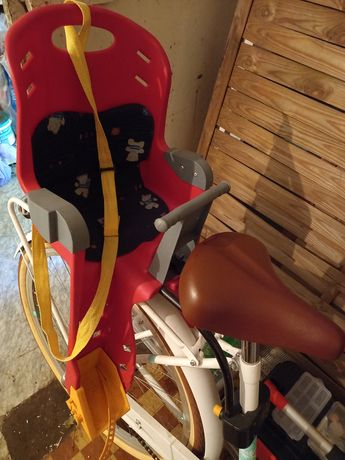 Fotelik na rower dla dziecka fotelik rowerowy