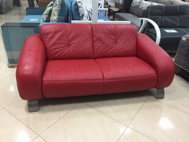 """Кожаный диван двухместный """"Redford"""" из Германии (24022)"""