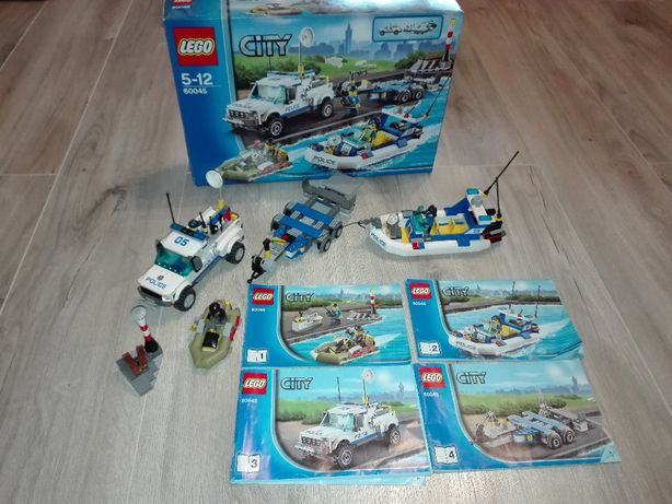 Lego City 60045 Police Patrol
