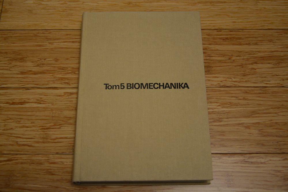 Biomechanika - tom 5 - A. Morecki, W. Ramotowski - (rok wyd. 1990) Białystok - image 1