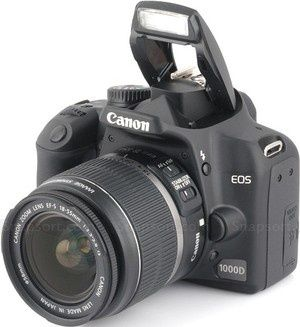 Aparat Canon 1000D, Obiektyw Canon EFS 18-200mm