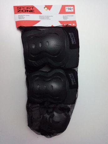Protecção de joelhos cotovelos e mãos.