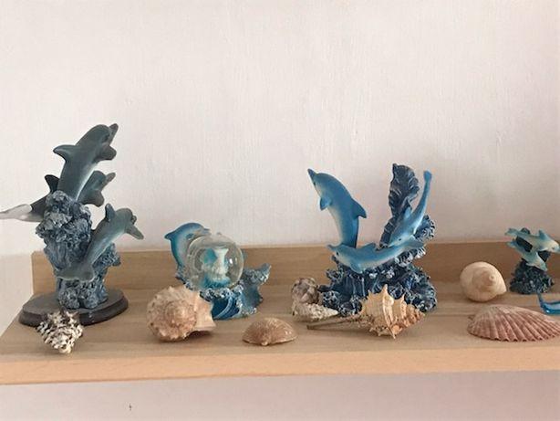 Figurki delfiny
