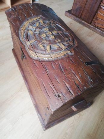 Arca de Madeira Maciça