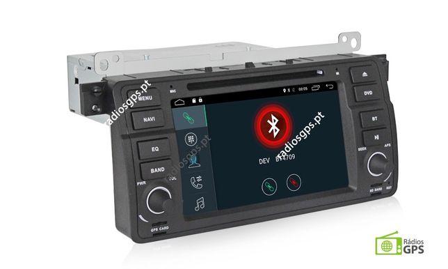 Auto Rádio ANDROID BMW E46 GPS, Multimédia, Mãos livres, 4G, Wifi